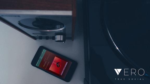 Shot der VERO App