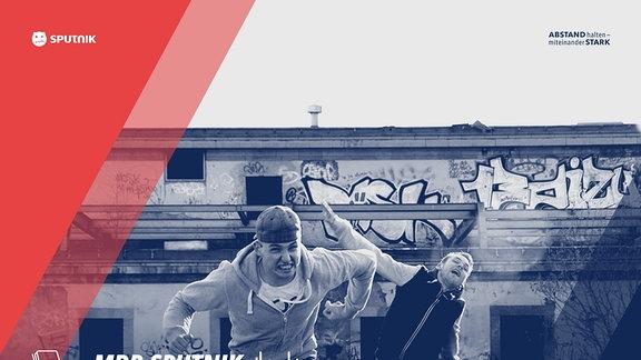 Die SPUTNIK Zuhause-Sets am 28.03.2020 auf dem YouTube-Channel von MDR SPUTNIK mit Foxon, Pretty Pink, LEVT, Disco Dice, Gebrüder Brett, Vize, Vanessa Sukowski und Ostblockschlampen.