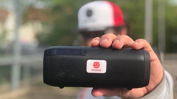Gewinne die SPUTNIK Bluetooth Box mit DAB+!