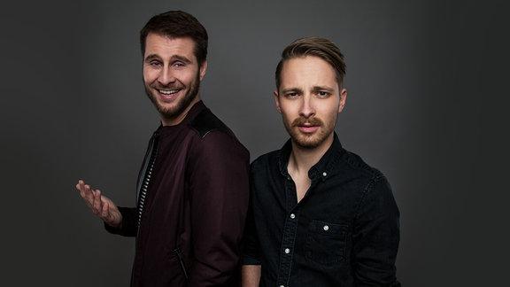 SPUTNIK Talkradio-Moderatoren Maurice und Kevin