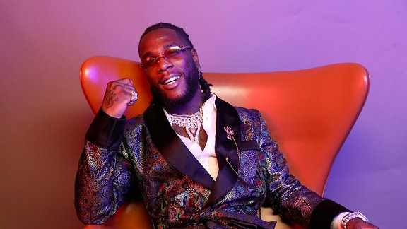 Rapper Burna Boy.