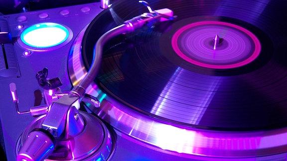 Ein DJ-Pult