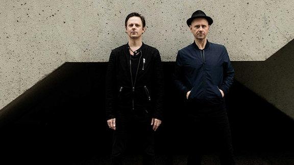 Das Duo Booka Shade ist bekannt in der deutschen Techno- und Houseszene.