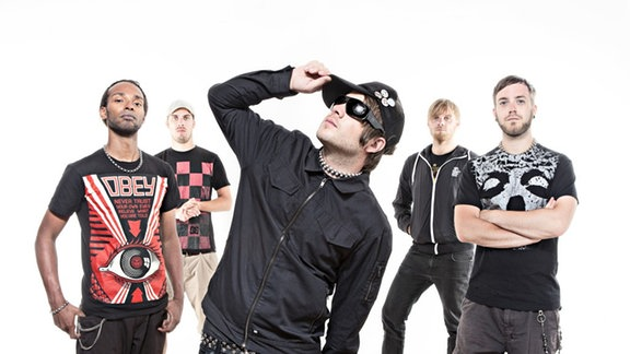 Die Band Emil Bulls.