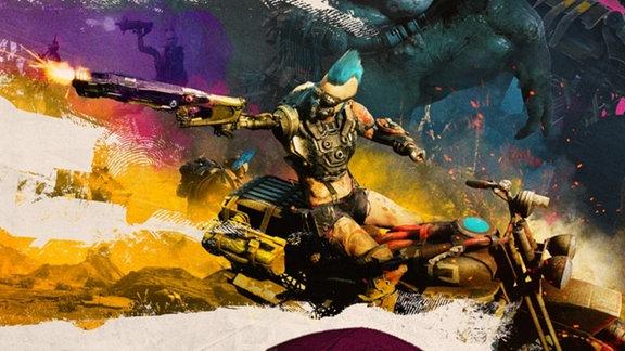 Bild aus dem Shooter-Game Rage 2.