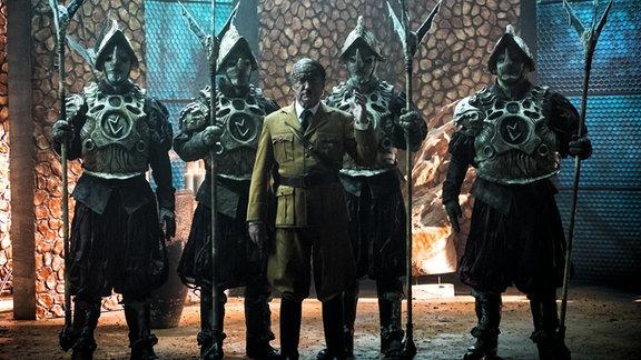 "Szene aus dem Kinofilm ""Iron Sky 2""."
