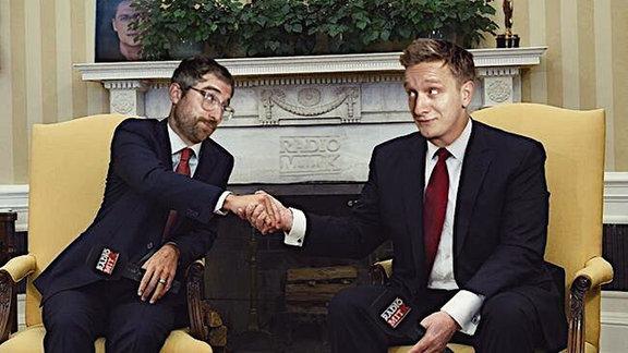 Handschlag im Weißen Haus, Steffen & Felix/KK