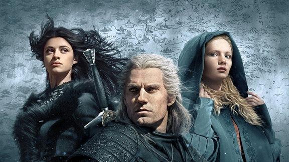 Serienplakat zu The Witcher.