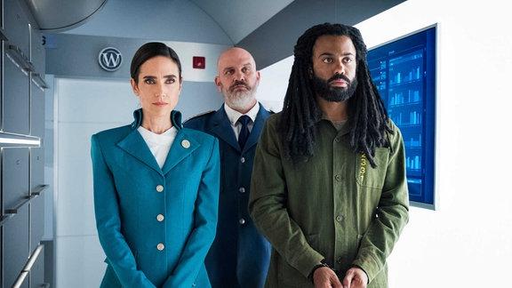 Aufnahme aus der Netflix-Produktion Snowpiercer.