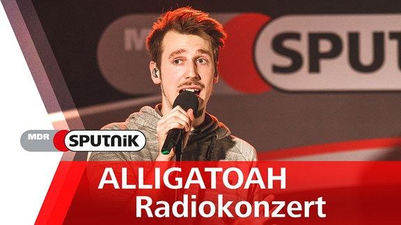 Alligatoah spielte bei MDR SPUTNIK ein exklusives Radiokonzert