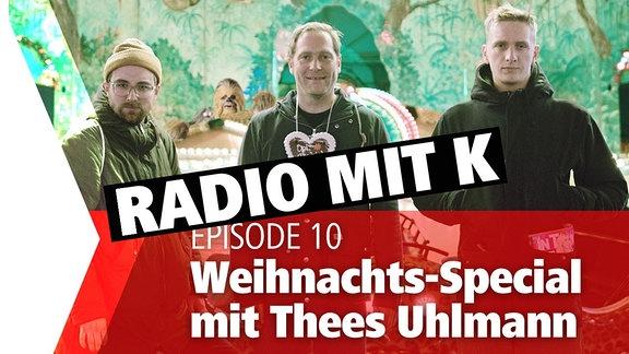 Steffen und Felix moderieren Radio mit K
