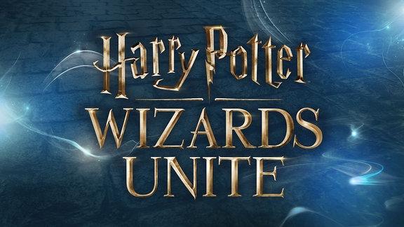 Logo von der 2018 erscheinenden App Harry Potter: Wizards Unite