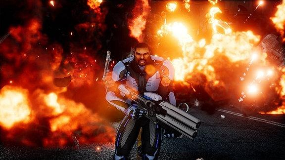 Screenshot aus dem Spiel Crackdown 3.