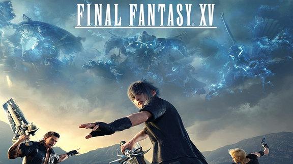 """Szene aus dem Rollenspiel """"Final Fantasy 15"""""""