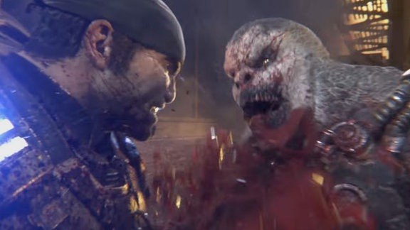 Szene aus Gears Of War