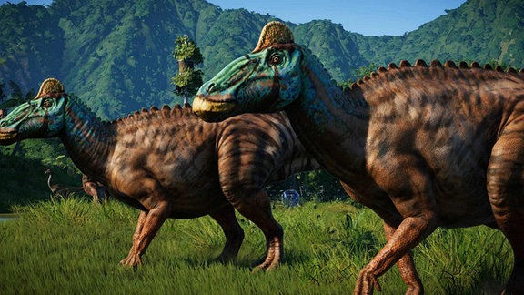 """Spielszene aus """"Jurassic World Evolution"""""""
