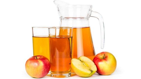 Klarer Apfelsaft