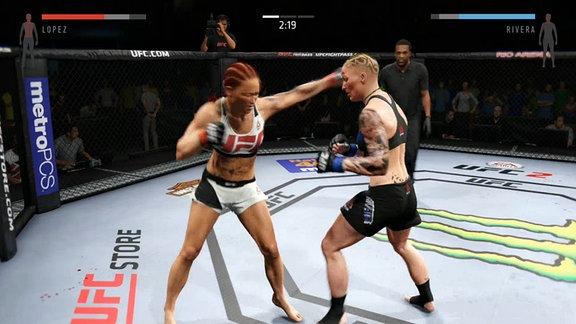"""""""UFC 2"""" - der zweite Teil des UFC-Fighters von Electronic Arts"""