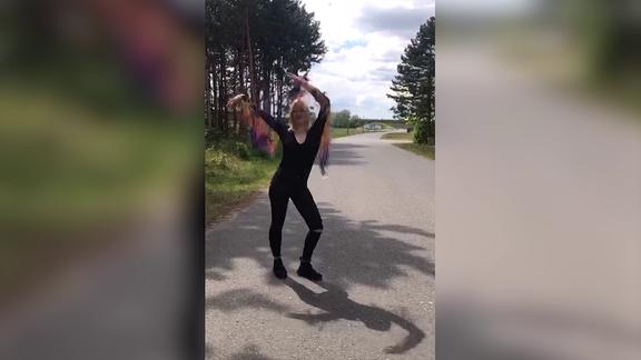 SPUTNIK Dancemob-Gewinnerin Anna aus Wolfen