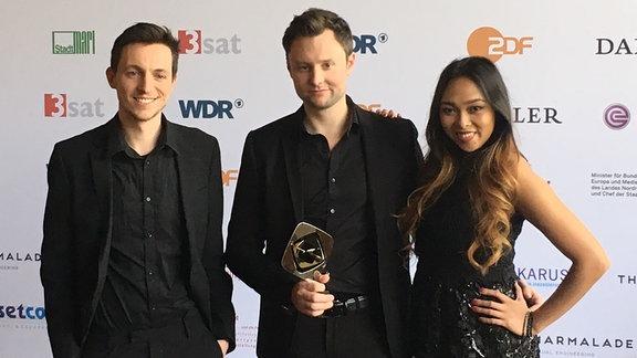 Gruppenfoto der Grimme-Preisträger von Wishlist
