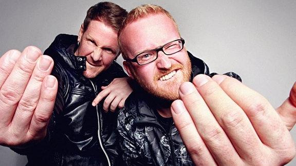 Das DJ-Duo Reche & Recall