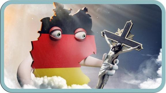 Thumbnail des Videos von MrWissen2go - Gottloses Deutschland? Warum die Kirche ein Problem hat.