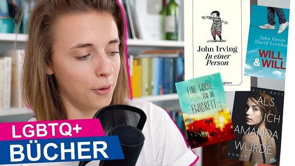 """Thumbnail des Videos """"LGBTQ BÜCHER! + Rezensionen"""" von OKAY."""