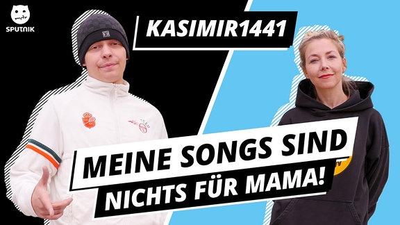 Der Rapper Kasimir1441 war zu Gast bei den Illegalen Fragen!